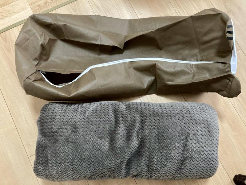 収納 ダイソー 袋 布団